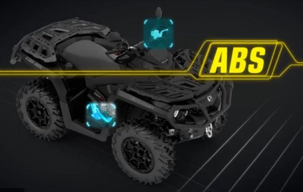 Motorradnews Can-Am: Innovatives ABS-Bremssystem
